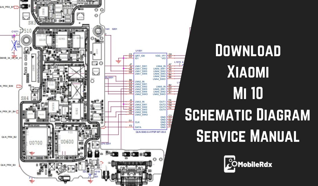 Xiaomi Mi 10 Schematic Diagram Service Manual