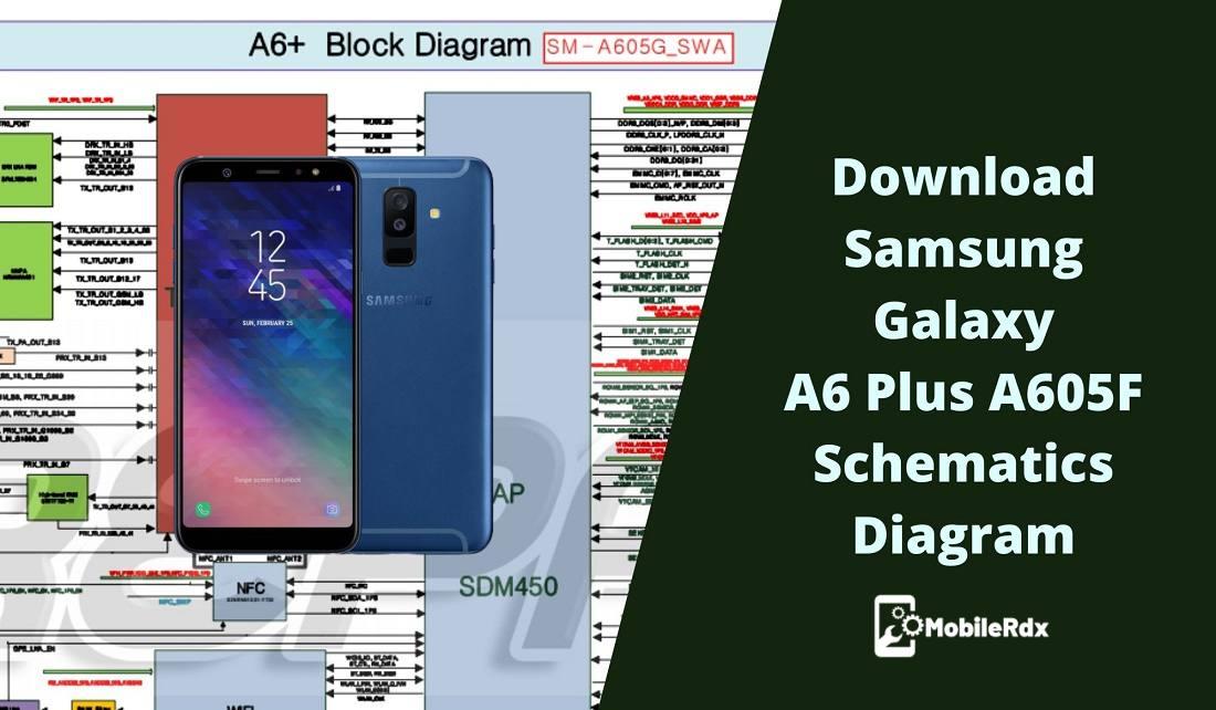 Download Samsung Galaxy A6 Plus A605F Schematics Diagram