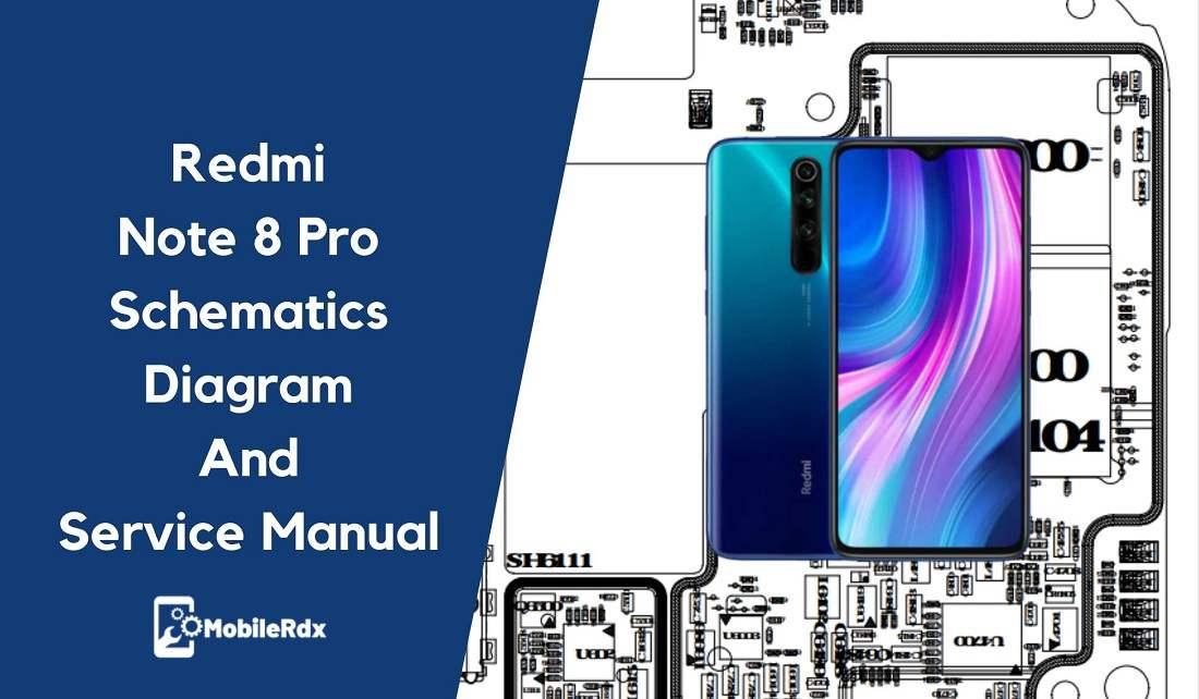 Redmi Note 8 Pro Schematics Diagram And Service Manual