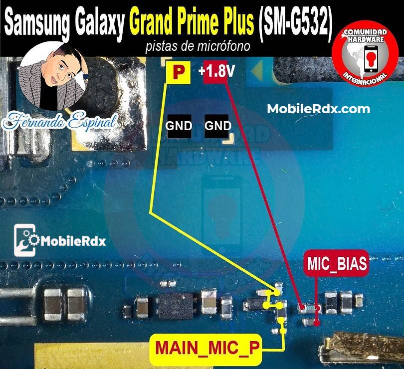 Samsung Galaxy Grand Prime Plus G532 Mic Ways Problem Solution
