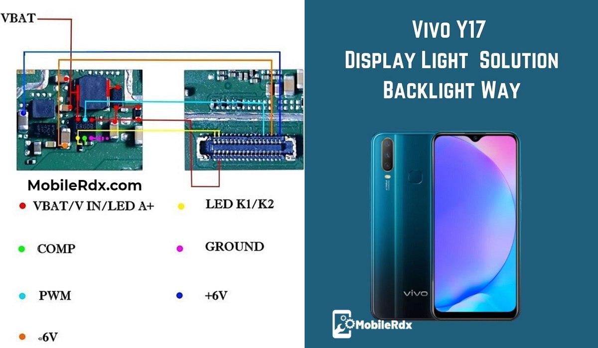 Vivo Y17 Display Light Problem Solution Backlight Way