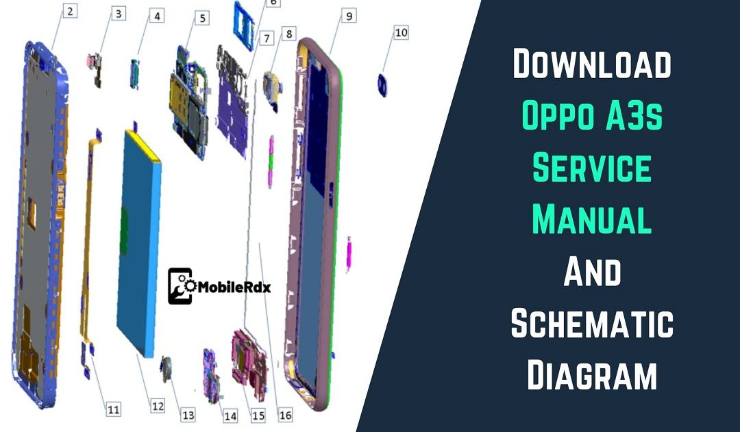 Download Oppo A3s Service Manual And Schematic Diagram
