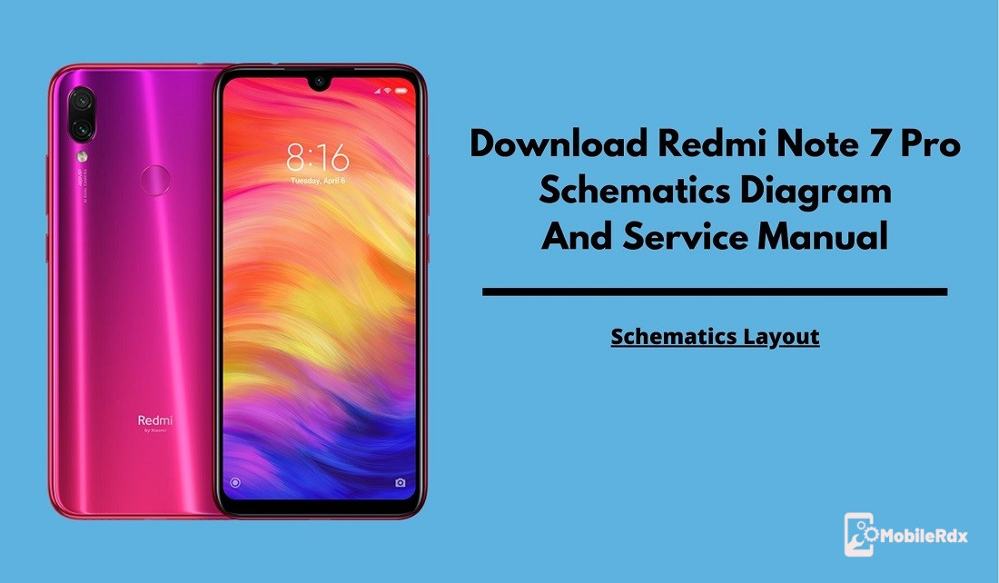 Redmi Note 7 Pro Schematics Diagram And Service Manual