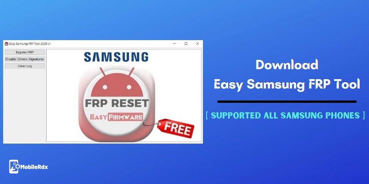 Download Easy Samsung FRP Tool