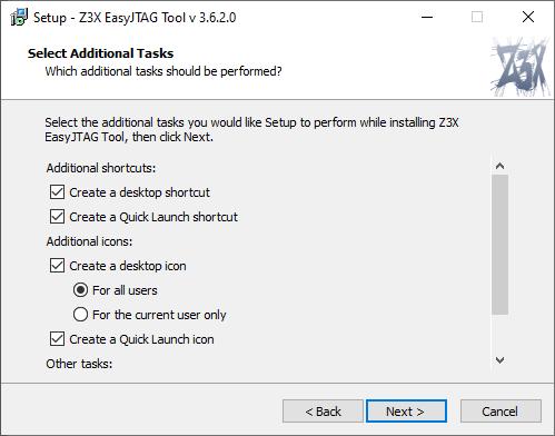 EasyJtag Install 4