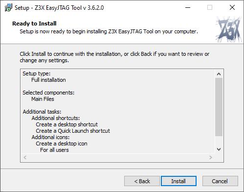 EasyJtag Install 5