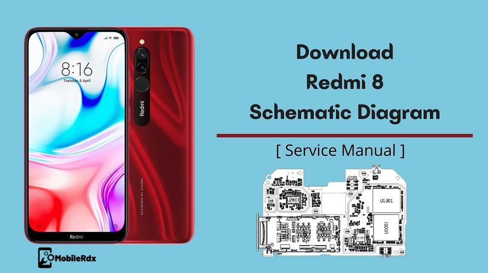 Download Redmi 8 Schematic Diagram And Service Manual