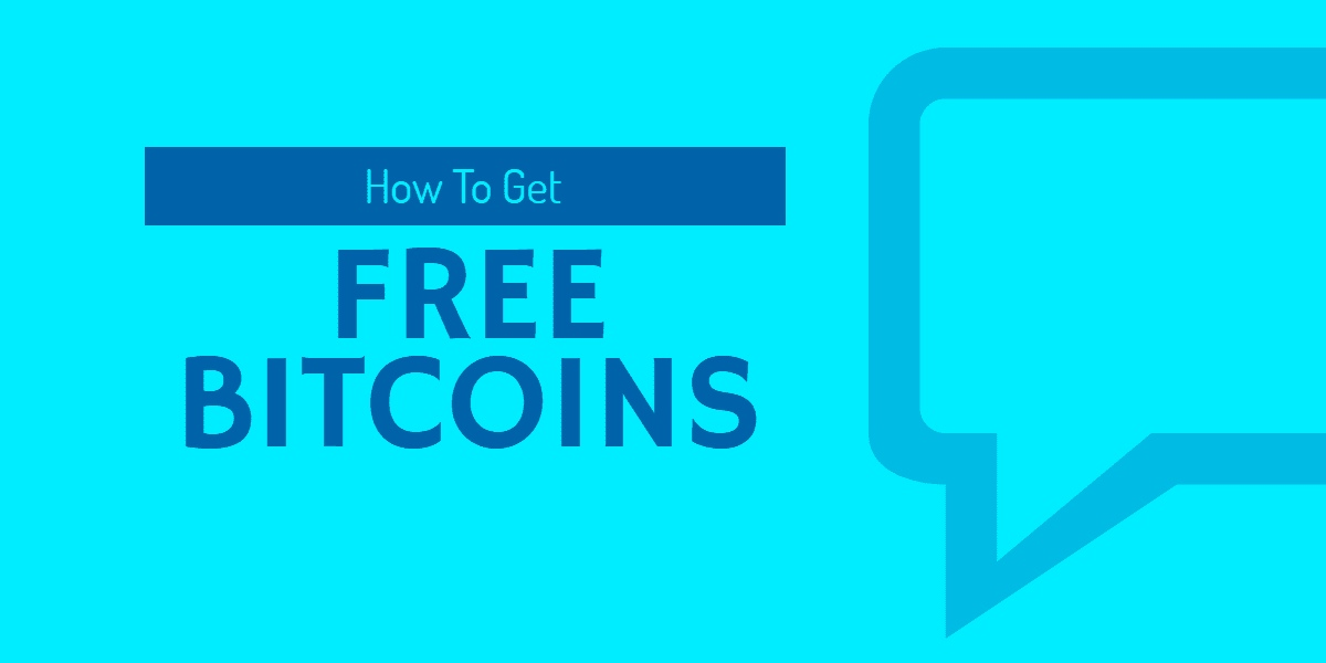 Earning Free Bitcoins