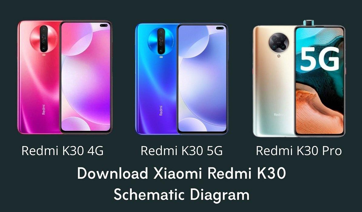 Xiaomi Redmi K30 Schematic Diagram All Edition