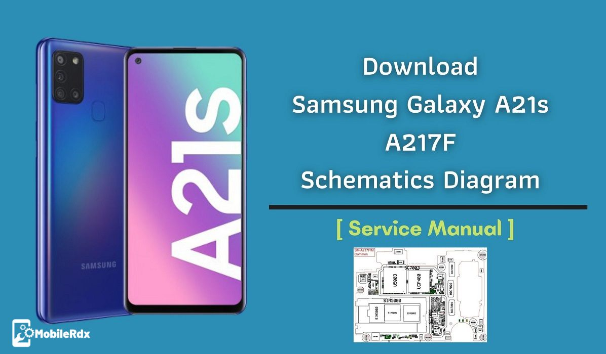 Download Samsung Galaxy A21s A217F Schematics Diagram