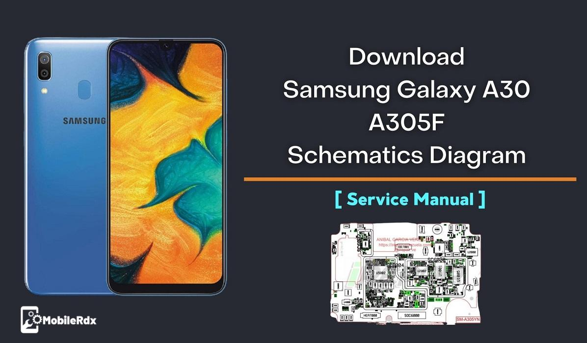 Download Samsung Galaxy A30 A305F Schematic Diagram