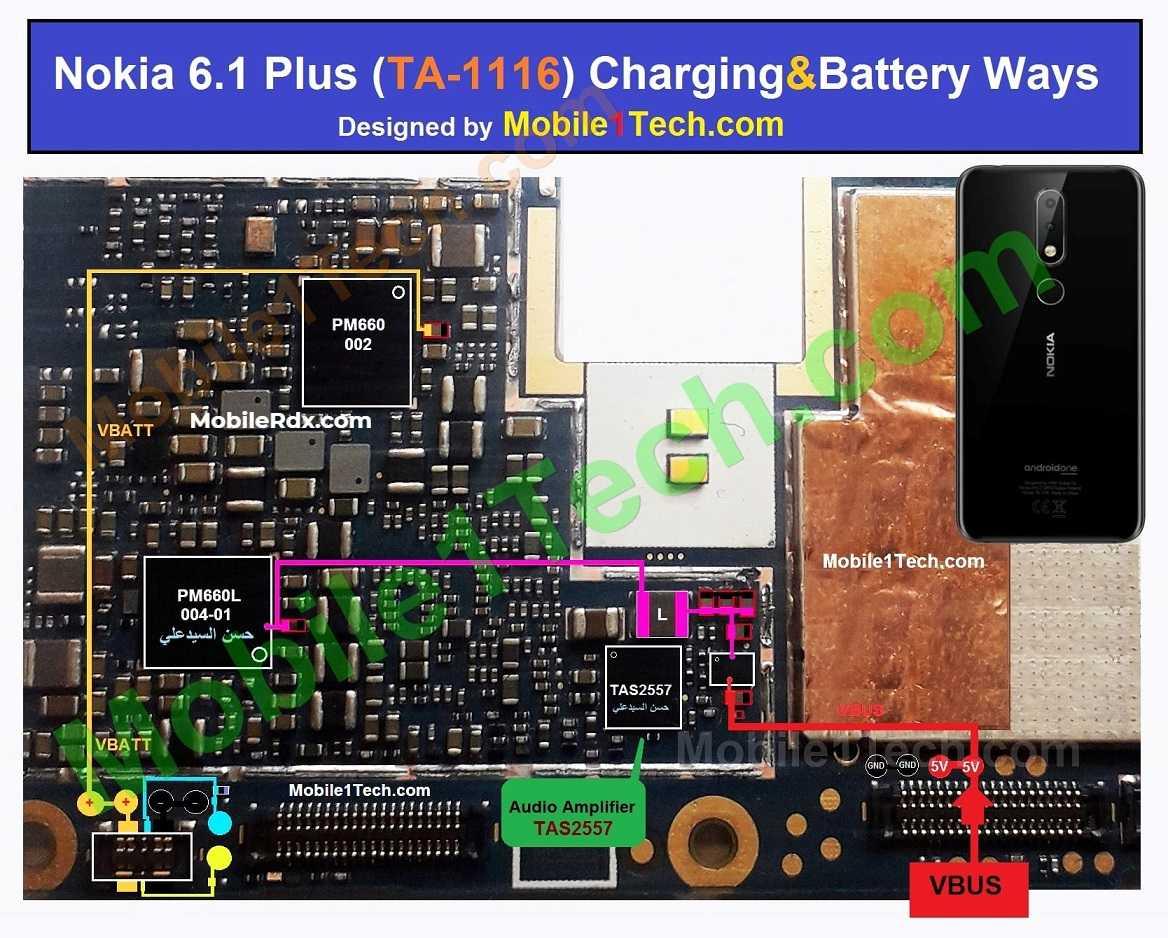 Repair Nokia 6.1 Not Charging Problems   Charging Ways