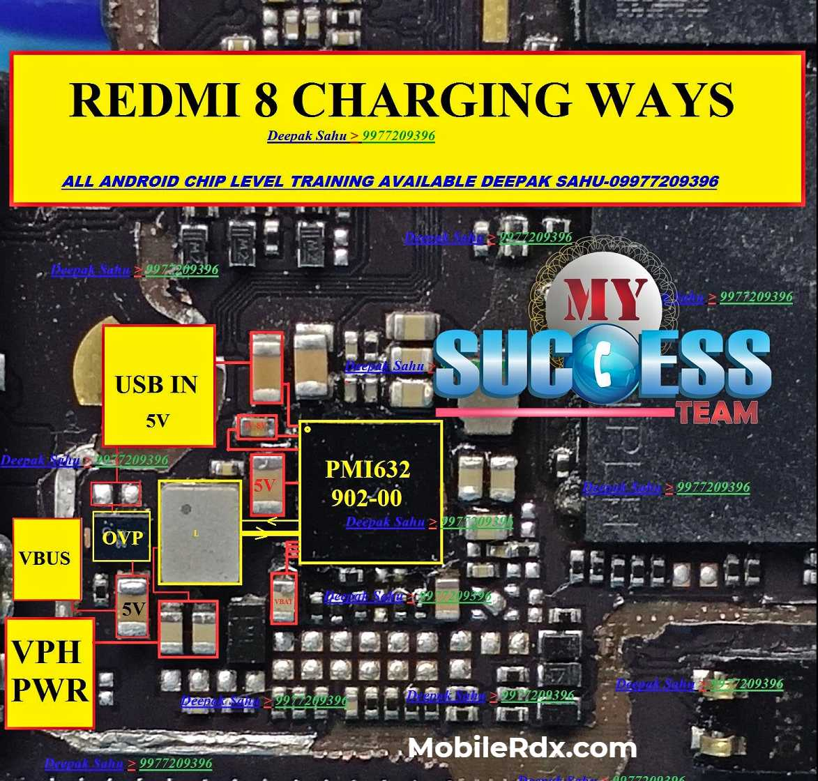 Repair Redmi 8 Wont Charge Problem Redmi 8 Charging Ways