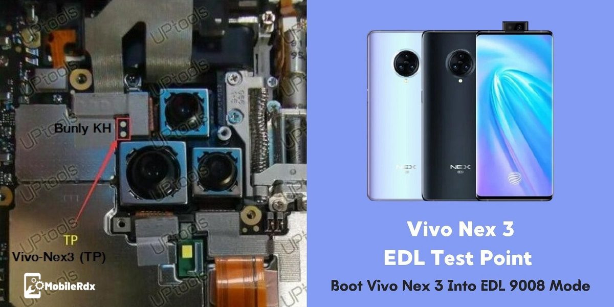 Vivo Nex 3 EDL Test Point EDL 9008 Mode Repair Dead Boot Unbrick
