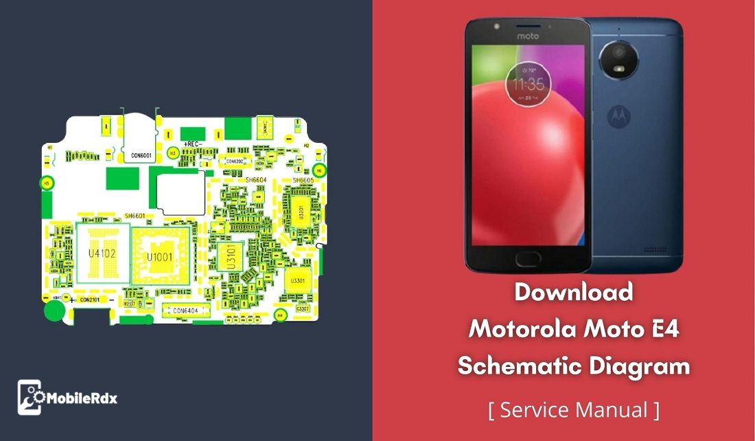 Download Motorola Moto E4 Schematic Diagram   Repair Hardware Problems