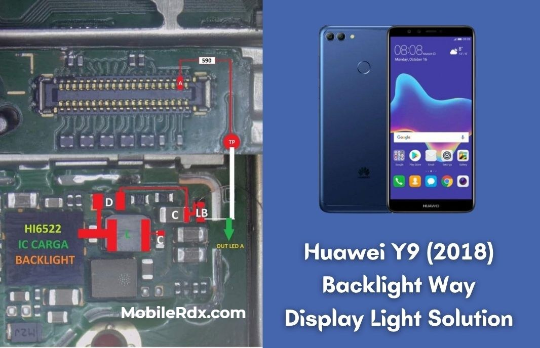 Huawei Y9 2018 Backlight Way   Display Light Problem Solution