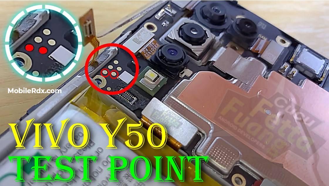 Vivo Y50 EDL Test Point   EDL 9008 Mode   Download Mode