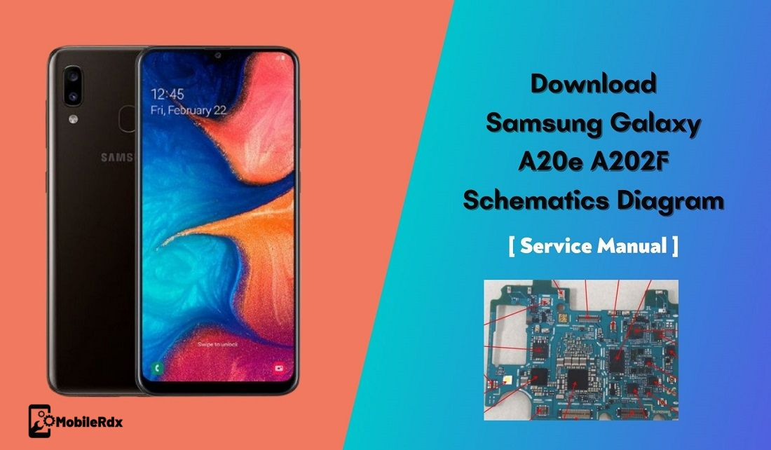 Download Samsung Galaxy A20e A202F Schematic Diagram   Service Manual