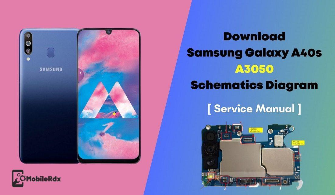 Download Samsung Galaxy A40s Schematic Diagram   Service Manual