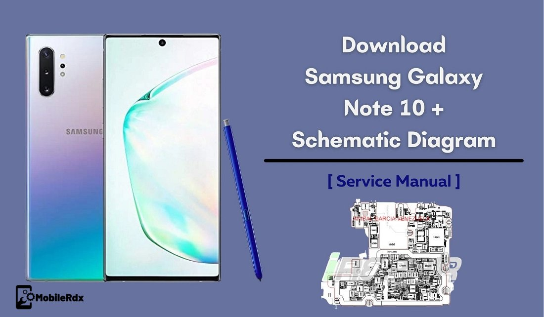 Download Samsung Galaxy Note 10 Schematics Diagram   Service Manual 1