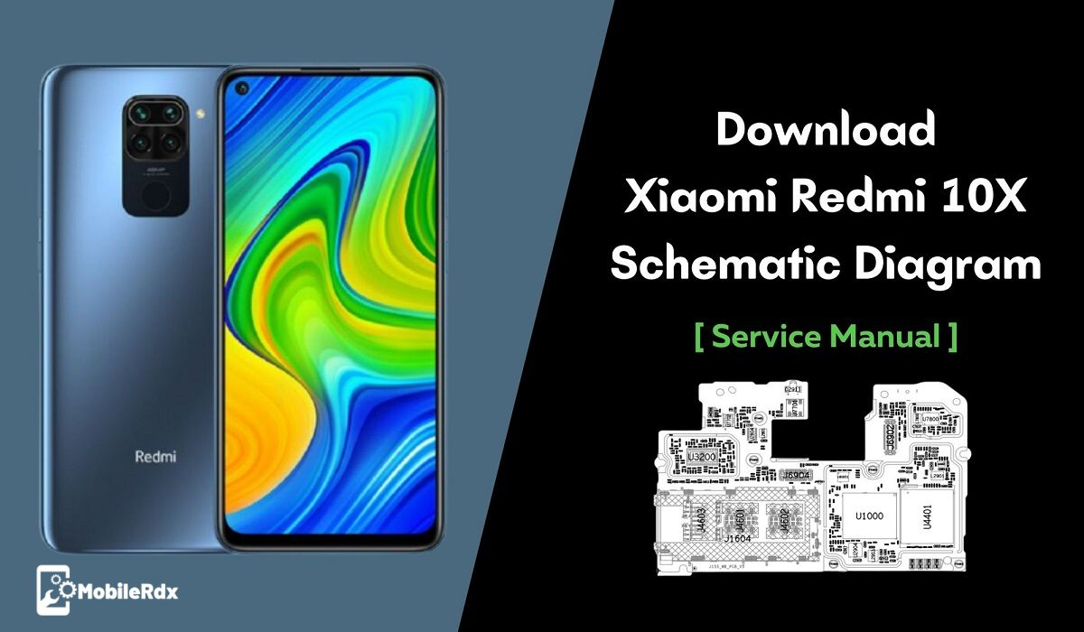 Download Xiaomi Redmi 10X Schematics Diagram   Repair Hardware Problems