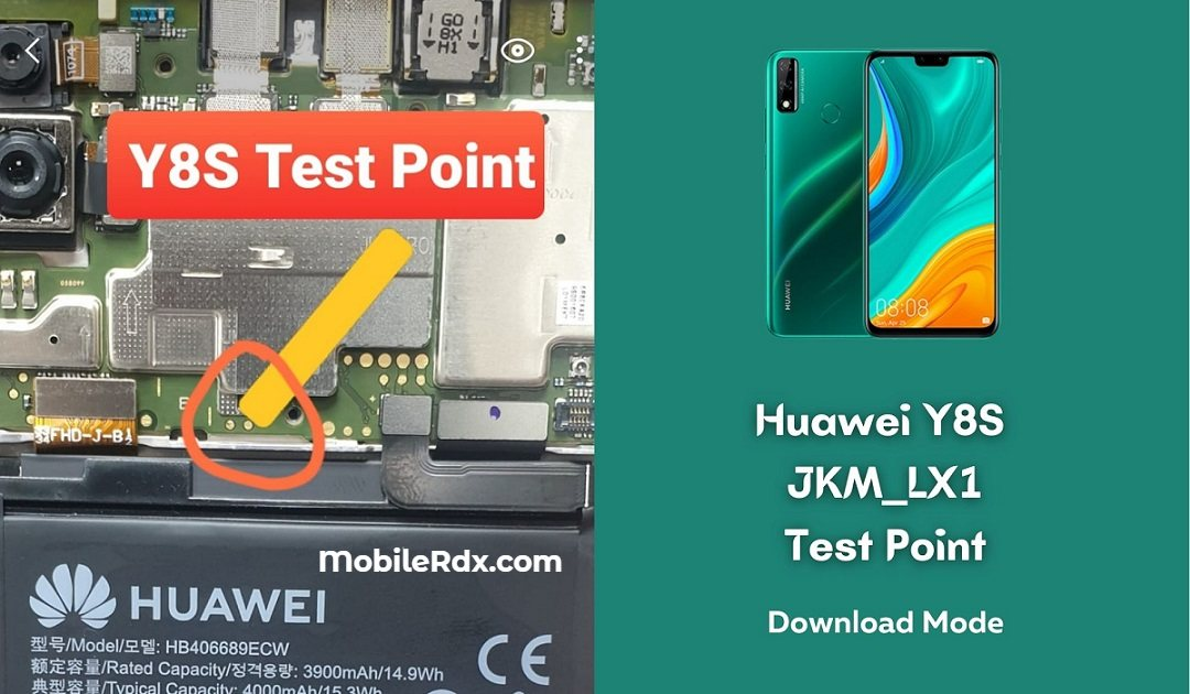 Huawei Y8s Test Point For Remove User Lock FRP And Flashing
