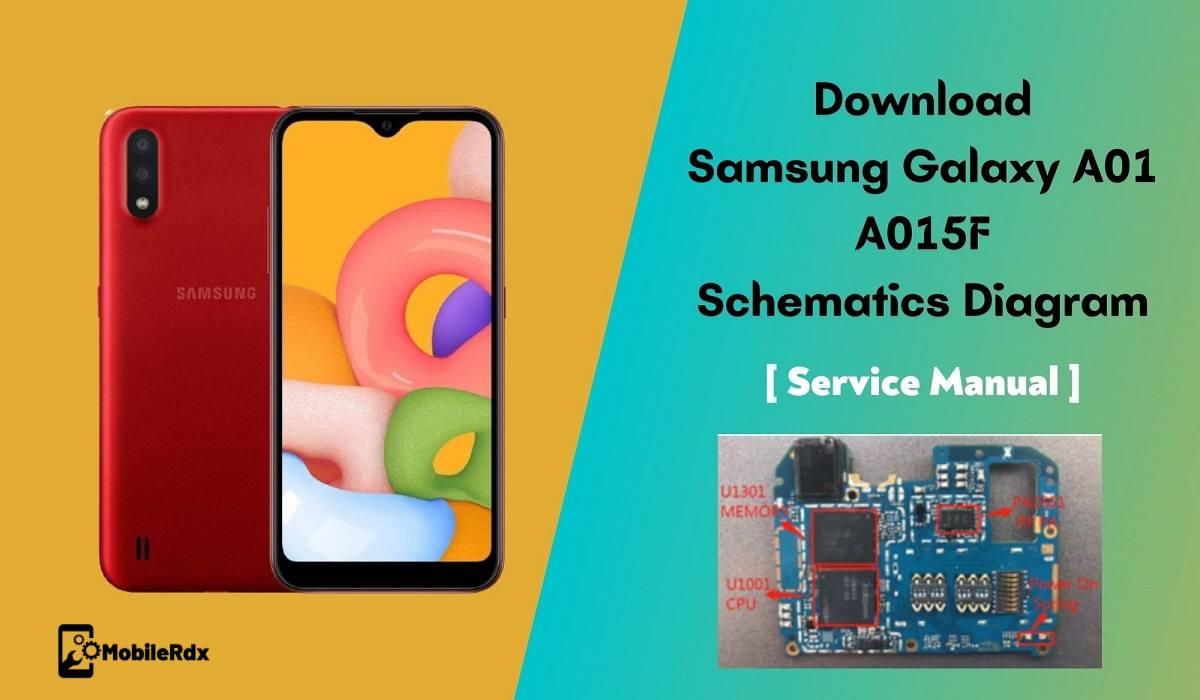 Samsung Galaxy A01 A015F Schematic Diagram