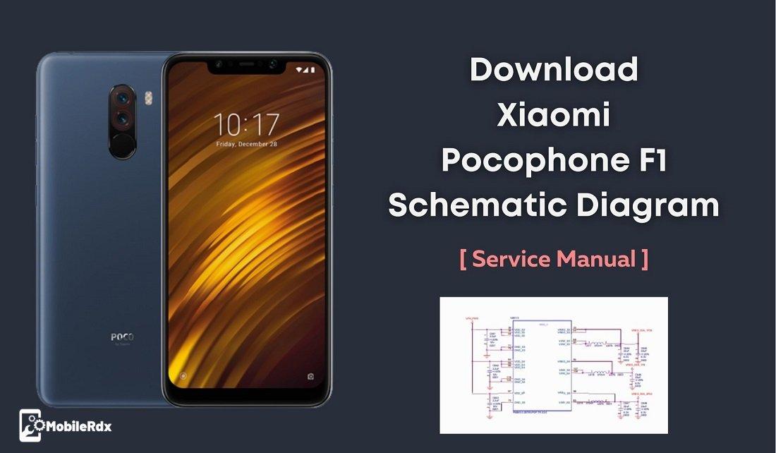 Xiaomi Pocophone F1 Schematics Diagram