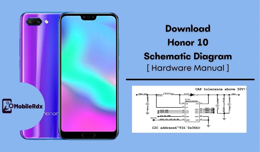 Download Honor 10 Schematic Diagram   Hardware Manual