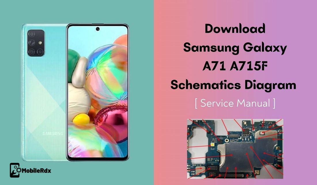 Download Samsung Galaxy A71 A715F Schematics Diagram   Service Manual