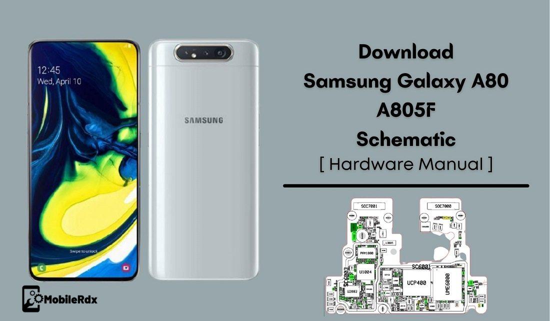 Download Samsung Galaxy A80 A805F Schematic   Hardware Manual