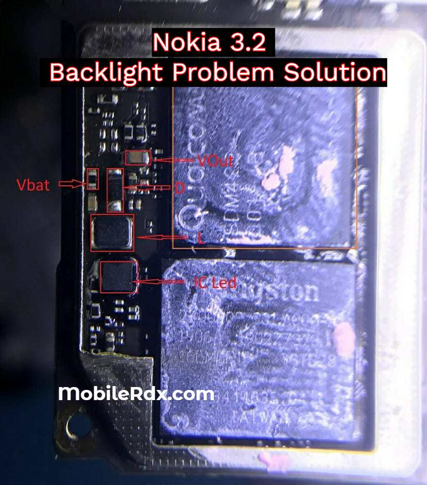 Nokia 3.2 LCD Backlight Problem Solution   Display Light Ways