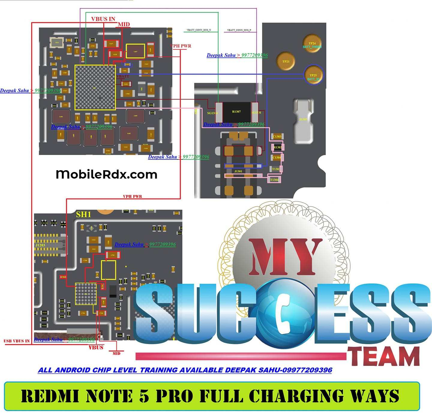 Repair Redmi Note 5 Pro Charging Problems Charging Ways
