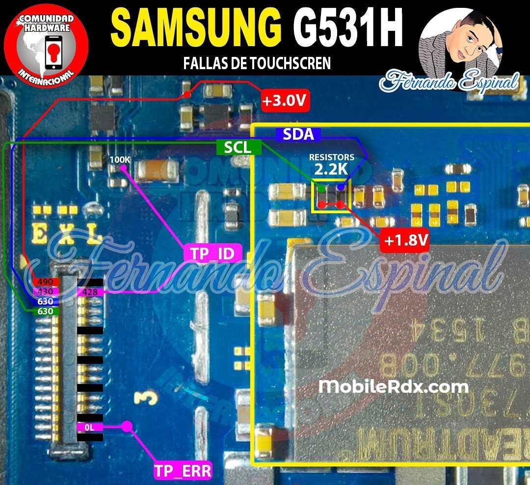 Samsung G531H Touch Screen Ways   Repair Touch Screen Problem