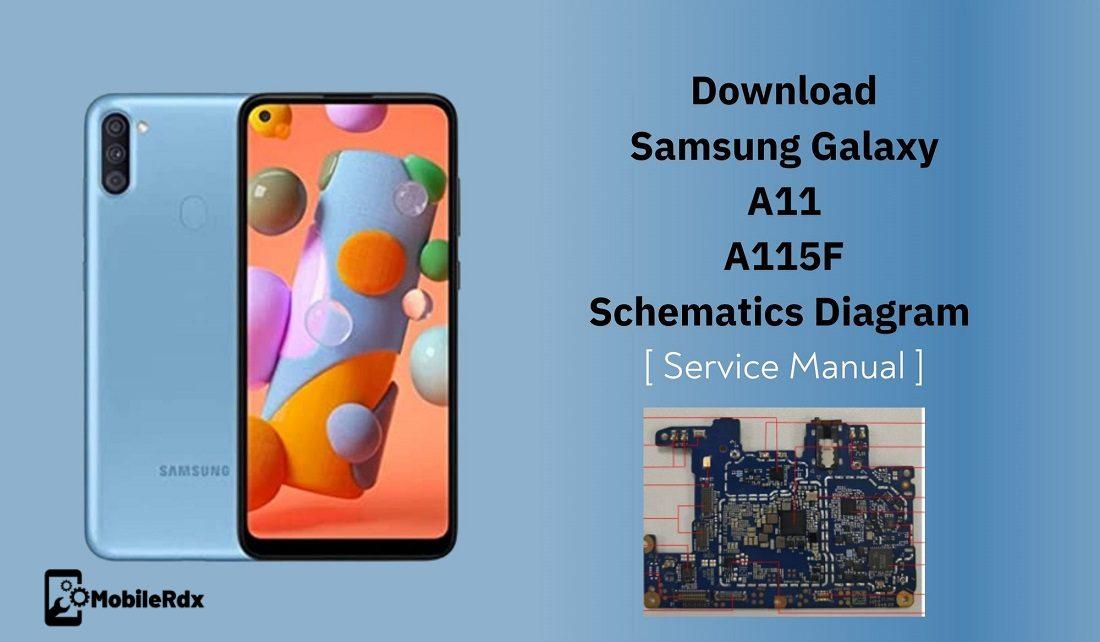 Samsung Galaxy A11 A115F Schematic Diagram Hardware Manual