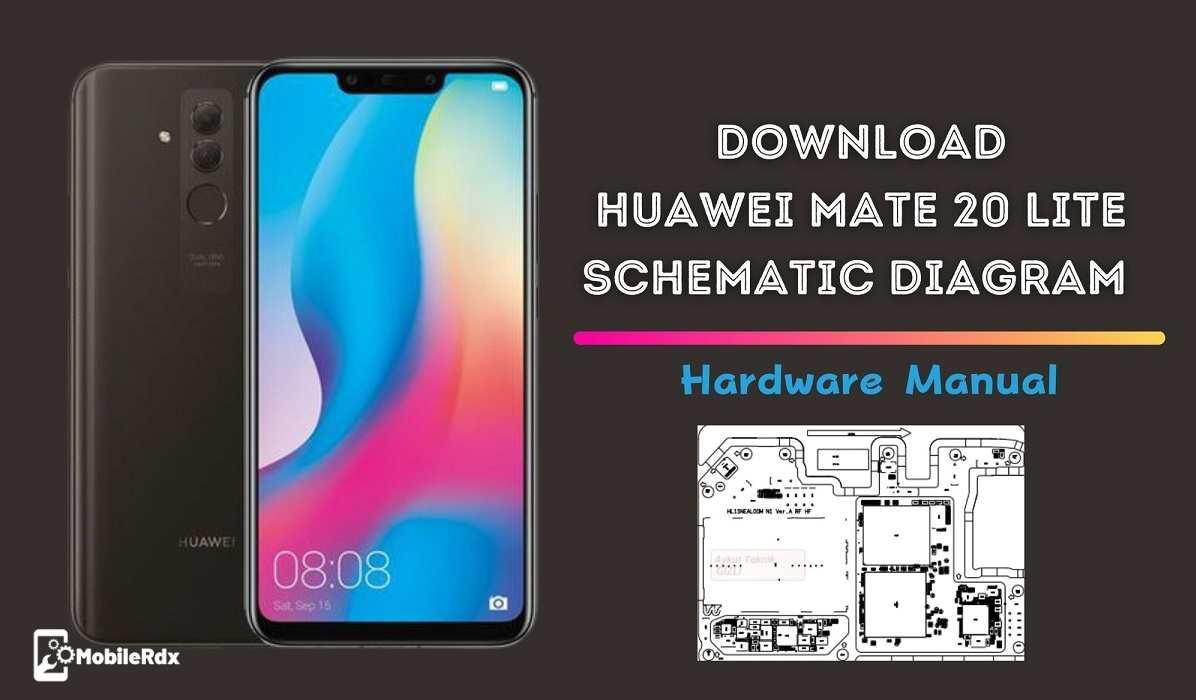 Download Huawei Mate 20 Lite Schematic Diagram   Hardware Manual