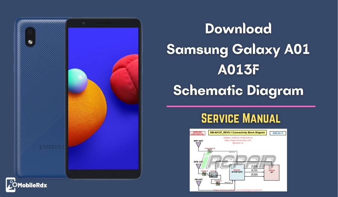 Download Samsung Galaxy A01 A013F Schematic Diagram   Service Manual