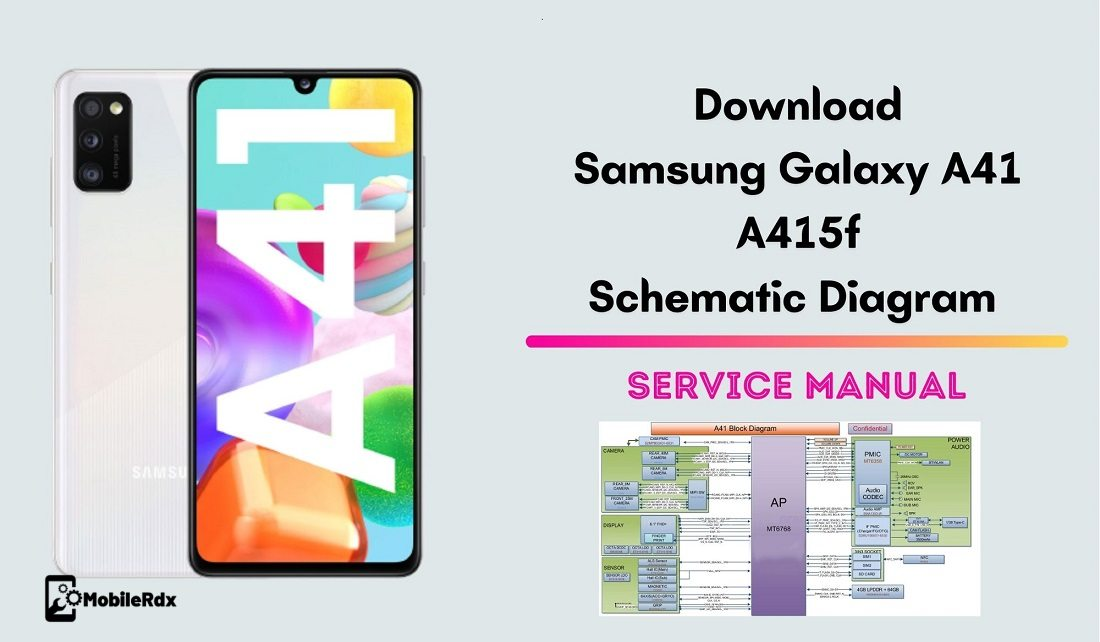 Download Samsung Galaxy A41 A415F Schematic Diagram   Service Manual