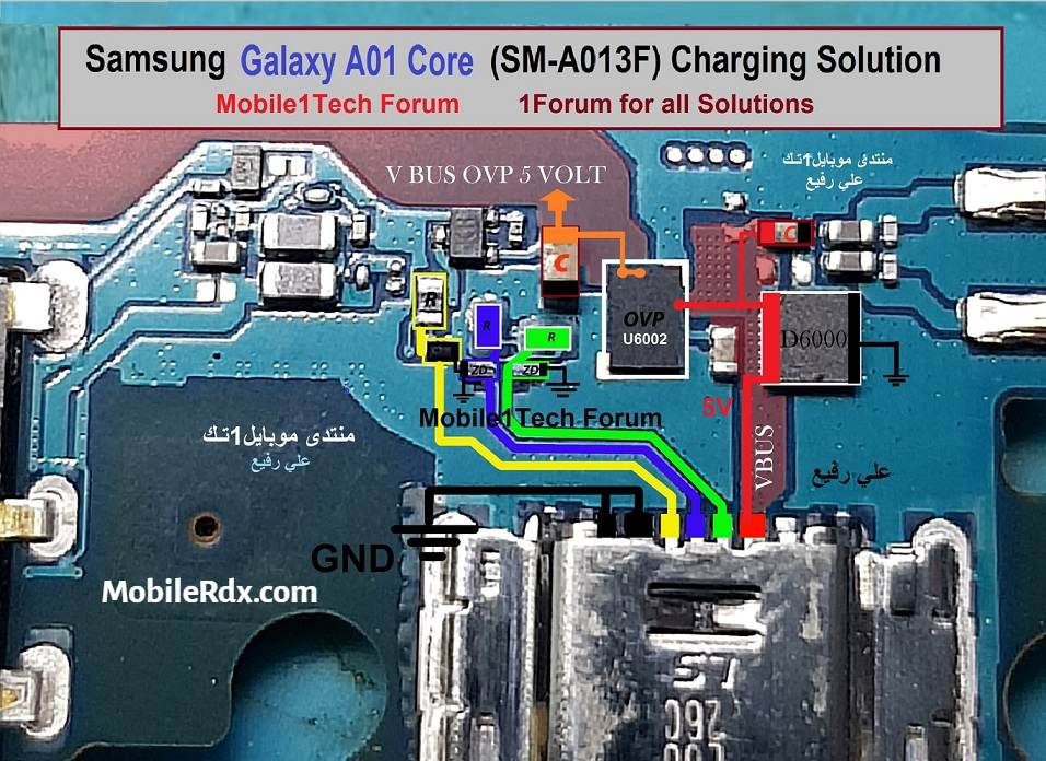 Repair Samsung A01 Core A013F Charging Problems   USB Ways