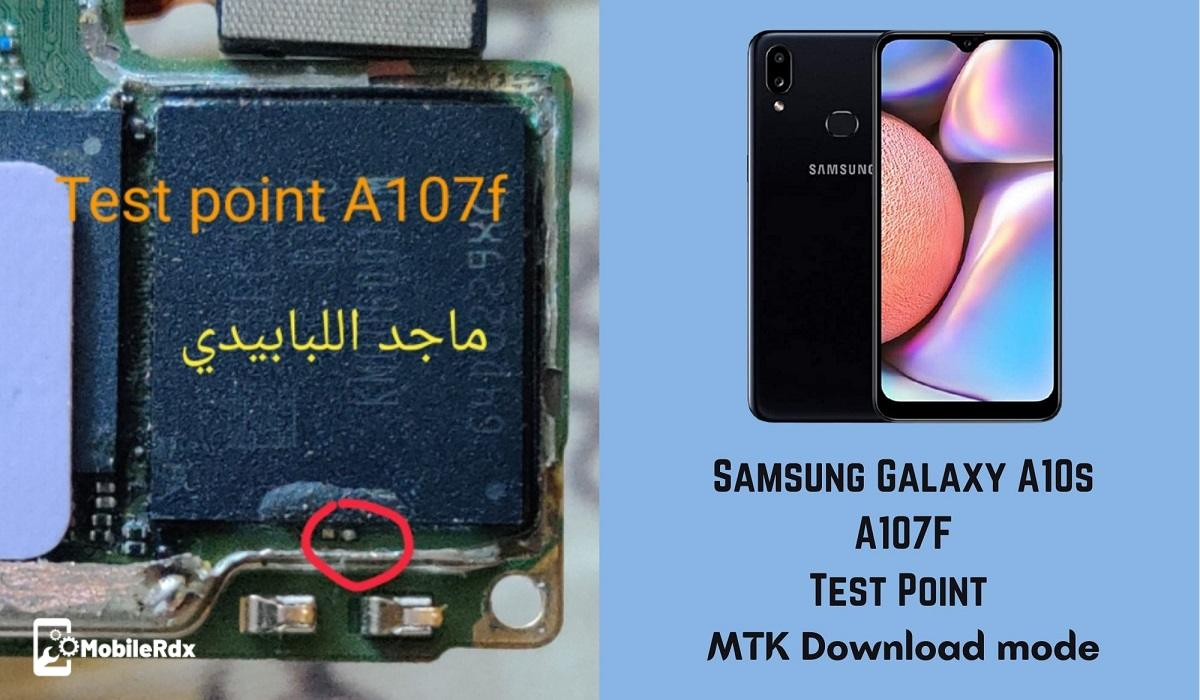 Samsung Galaxy A10s A107F Test Point   Emergency Download Mode
