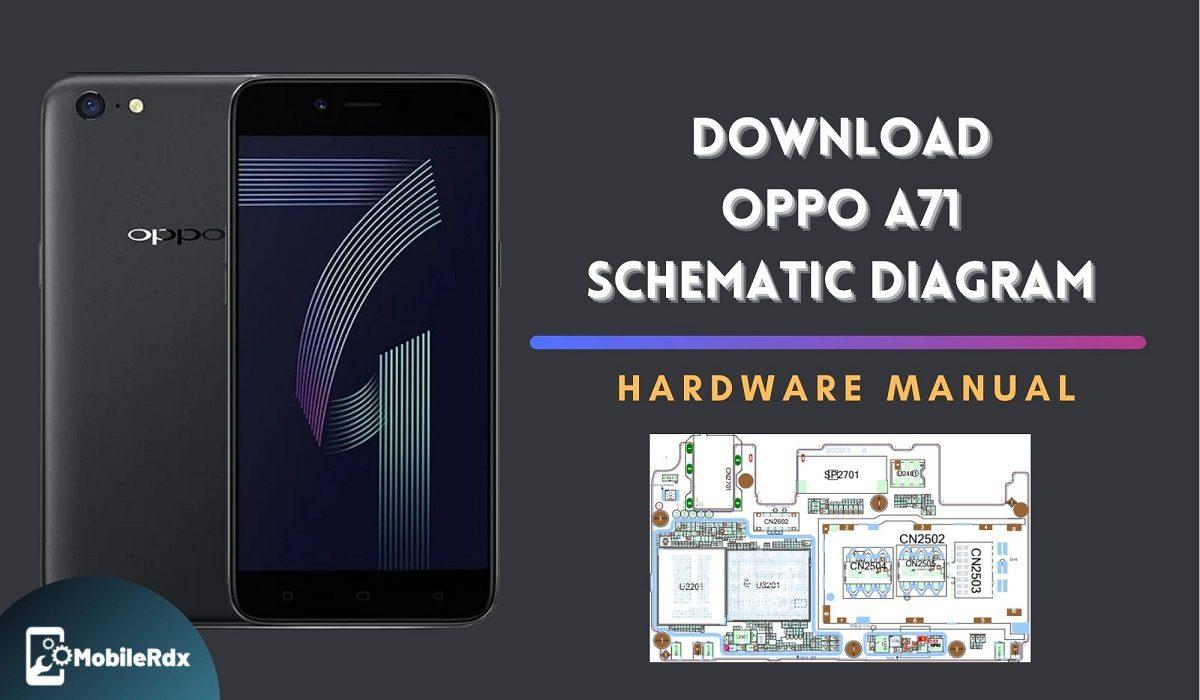 Download Oppo A71 Schematics Diagram   Service Manual