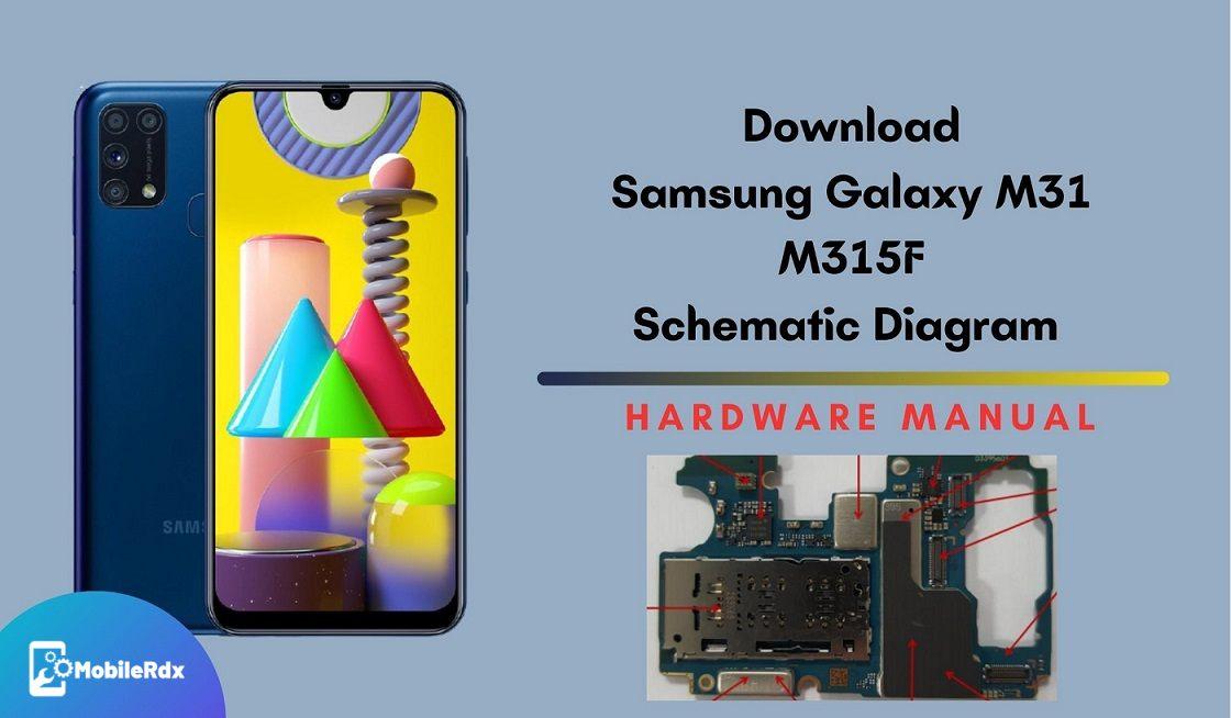 Download Samsung Galaxy M31 Schematic Diagram   Service Manual