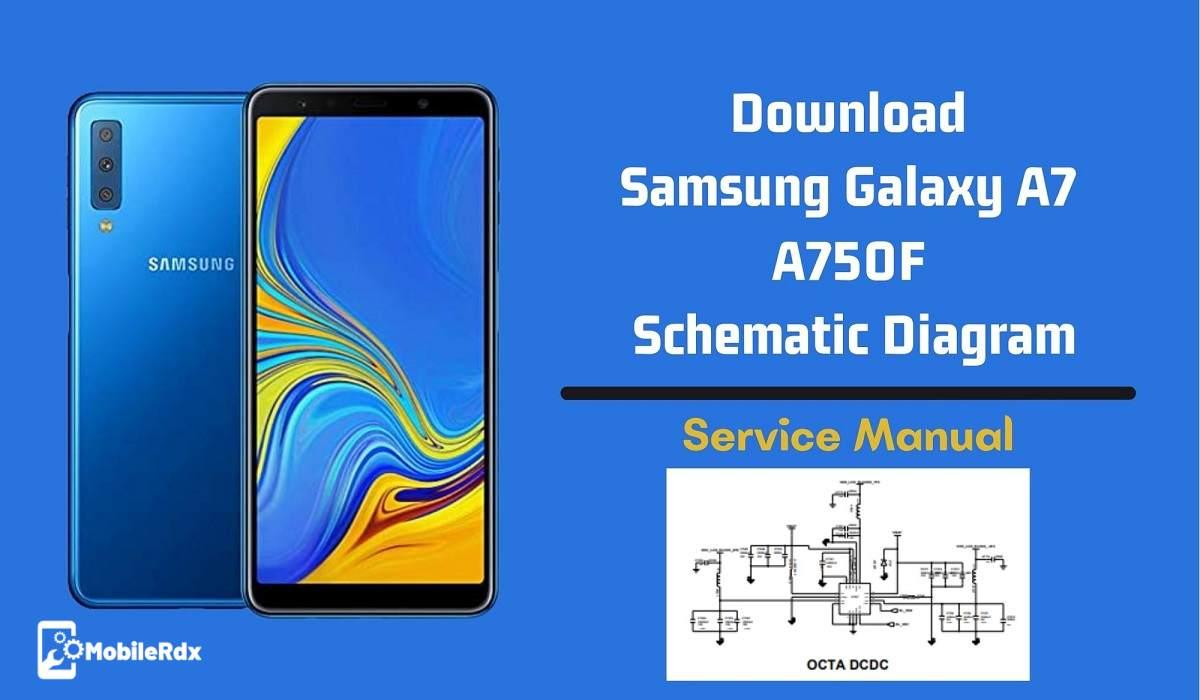 Download Samsung Galaxy A7 A750F Schematic Diagram   Hardware Manual