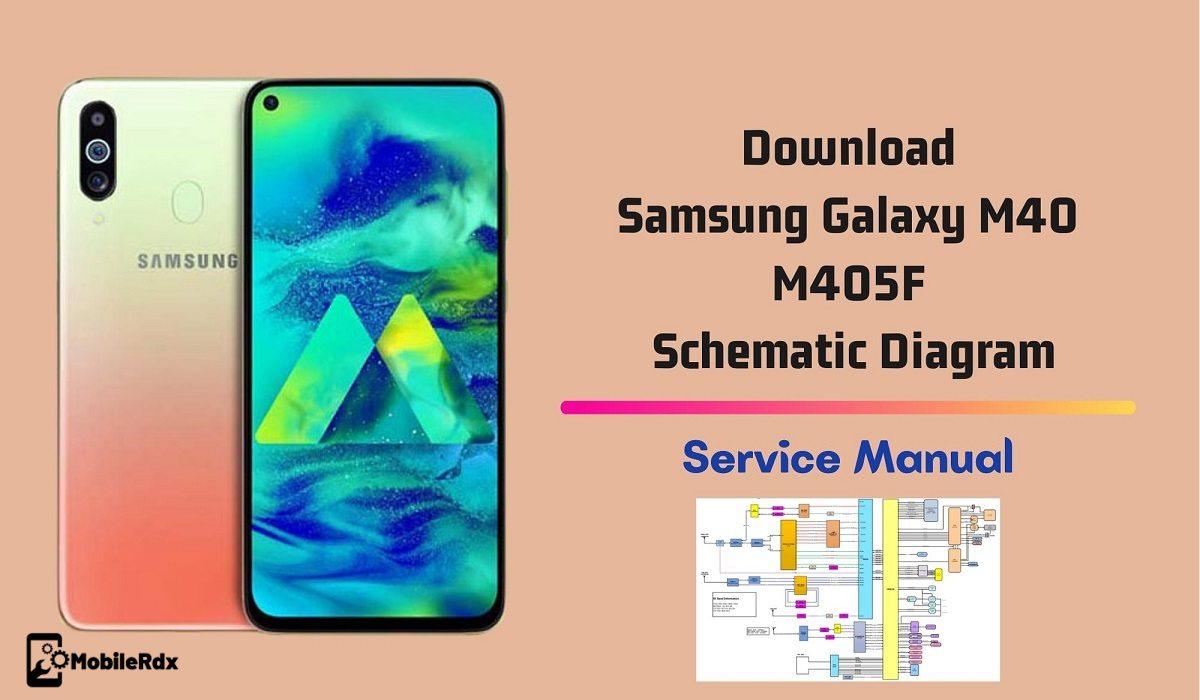 Download Samsung Galaxy M40 M405F Schematic Diagram   Service manual
