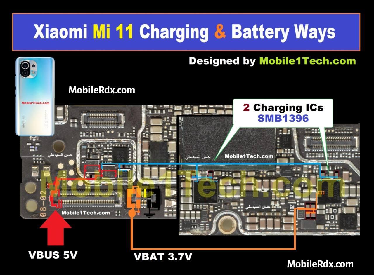 Repair Xiaomi Mi 11 Charging Problems   Battery Charging Ways