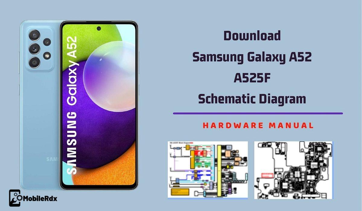 Download Samsung Galaxy A52 Schematic Diagram   Service Manual