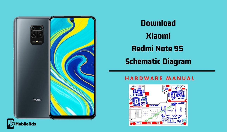 Redmi Note 9S Schematics Diagram