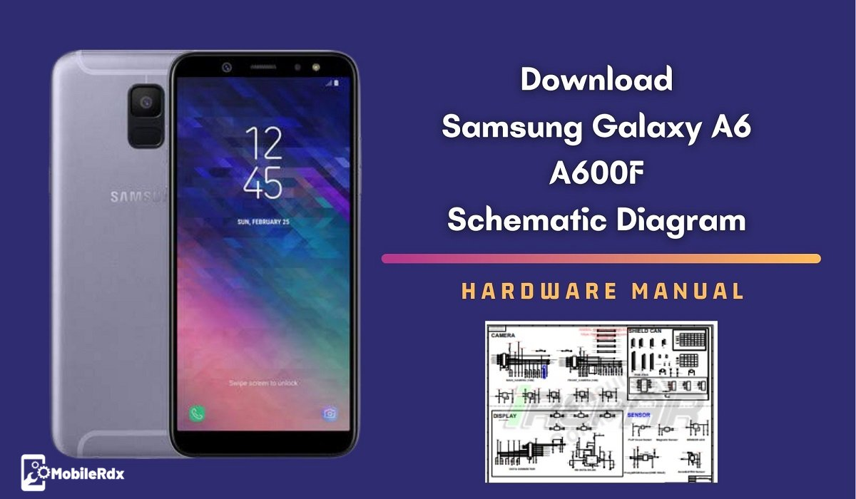 Samsung Galaxy A6 A600F Schematic Diagram   Service Manual