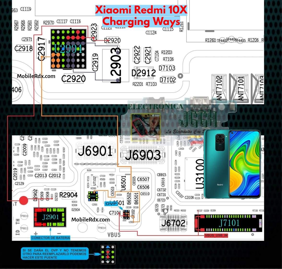 Redmi 10X Charging Ways   Repair Not Charging Problem