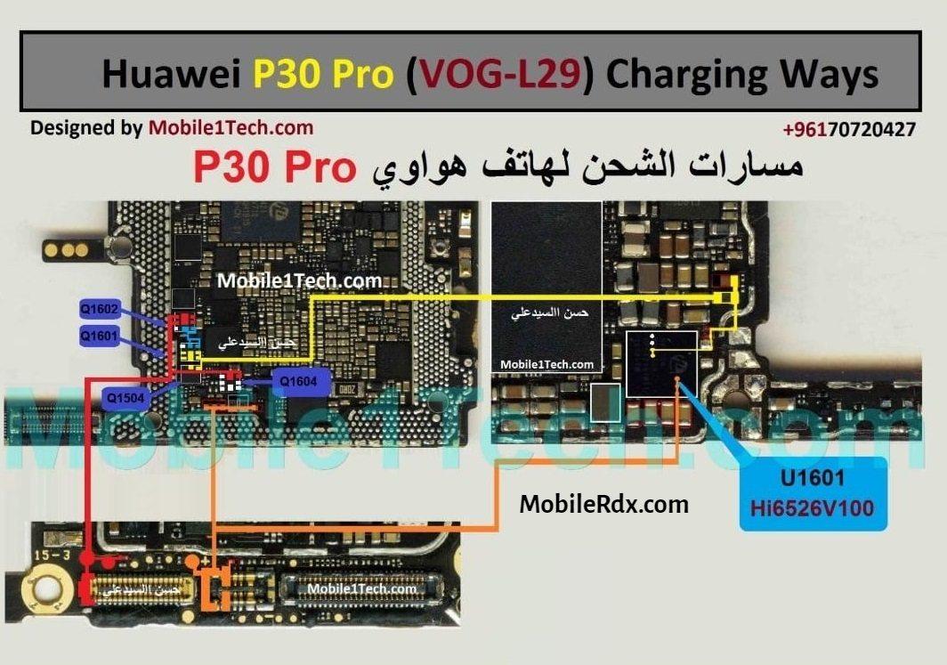 Repair Huawei P30 Pro Not Charging Problem   Charging Ways